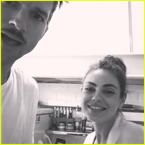 Mila Kunis & Ashton Kutcher Sing Children's Song 'La Vaca Lola' - Watch & Listen!
