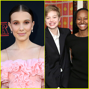 Millie Bobby Brown Is Friends with Angelina Jolie's Kids!
