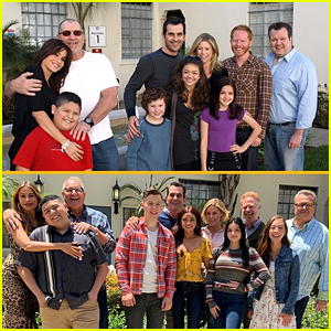 'Modern Family' Cast Shares First Table Read Pictures 10 Years Apart!