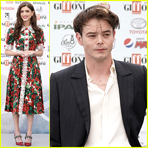 Natalia Dyer & Charlie Heaton Couple Up For Giffoni Film Festival 2019