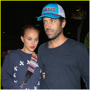 Natalie Portman & Husband Benjamin Millepied Head to the Movies in Hollywood