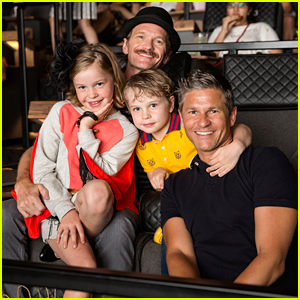 Neil Patrick Harris & David Burtka Take the Kids to See 'The Lion King'
