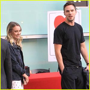 Nicholas Hoult & Girlfriend Bryana Holly Make Rare Public Appearance at Film Premiere