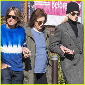 Nicole Kidman & Keith Urban Step Out for Lunch with Her Mom in Sydney