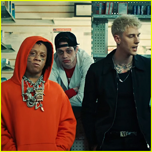 Pete Davidson Stars in BFF Machine Gun Kelly's New 'Candy' Music Video!