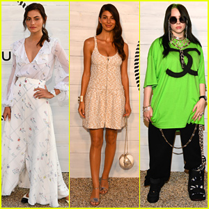 Phoebe Tonkin, Camila Morrone & Billie Eilish Attend Chanel J12 Dinner