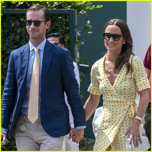 Pippa Middleton & James Matthews Couple Up for Day at Wimbledon 2019