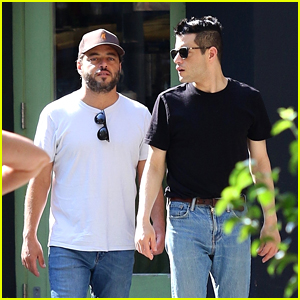 Rami Malek & Twin Brother Sami Take a Stroll After Having Lunch in NYC