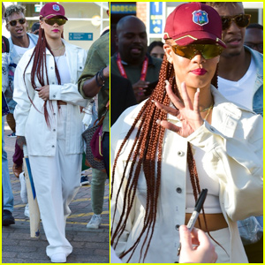 Rihanna Shows Her Support For West Indies at Cricket World Cup!