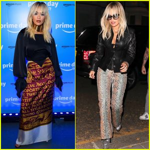 Rita Ora Steps Out for Prime Day Party in London!