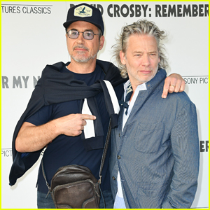 Robert Downey Jr. Teams Up with 'Sherlock Holmes 3' Director Dexter Fletcher at 'David Crosby' Screening!