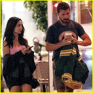 Shia LaBeouf Visits Swingers Diner in WeHo With a Friend