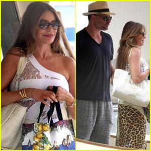 Sofia Vergara Celebrates Her Birthday With Husband Joe Manganiello in Italy
