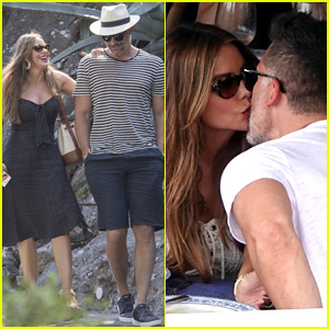 Sofia Vergara & Joe Manganiello Kiss, Look So Happy on Vacation in Italy!