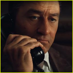 'The Irishman' Trailer Displays Technology Used to De-Age Robert De Niro - Watch Now!