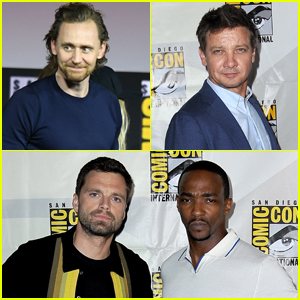 Tom Hiddleston, Jeremy Renner, & More Promote New Marvel TV Series at Comic-Con 2019!