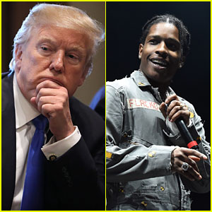 President Donald Trump Addresses A$AP Rocky's Imprisonment in Sweden