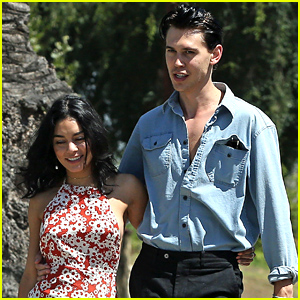 Austin Butler Already Looks Like Elvis, Steps Out with Vanessa Hudgens After Casting News!