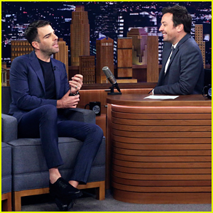 Zachary Quinto Celebrates 'NOS4A2' Second Season Renewal on 'Fallon'!