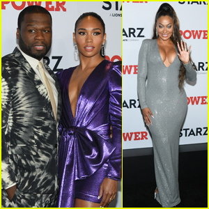 50 Cent, La La Anthony, & More Step Out for 'Power' Season Six Premiere in NYC!