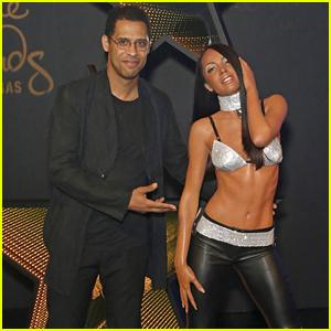 Aaliyah's Brother Rashad Debuts Wax Figure at Madame Tussauds Las Vegas