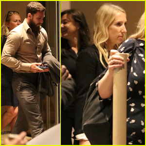 Aaron Taylor-Johnson & Wife Sam Couple Up While Out in London