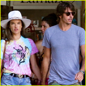 Alessandra Ambrosio & Boyfriend Nicolo Oddi Do Some Shopping in Malibu