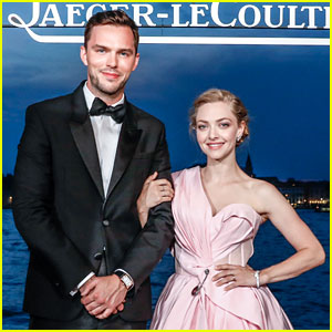 Amanda Seyfried & Nicholas Hoult Are Picture-Perfect at Venice Film Festival's Jaeger-LeCoultre Gala Dinner