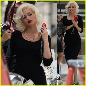 Ana de Armas Gets Into Character as Marilyn Monroe on the Set of 'Blonde' - Get a First Look!