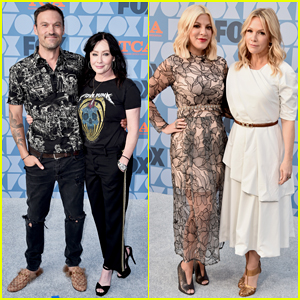 'Beverly Hills, 90210' Cast Celebrate Reboot Premiere at Fox TCA Party - Watch Opening Credits!