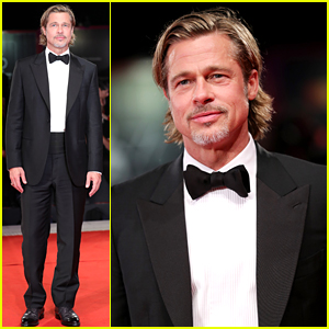 Brad Pitt Looks So Suave in a Tux at 'Ad Astra' Venice Premiere!