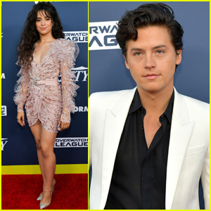Camila Cabello & Cole Sprouse Attend Variety's Power of Young Hollywood 2019