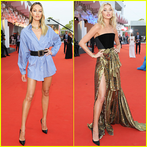 Candice Swanepoel, Elsa Hosk & More Support 'Marriage Story' Cast at Venice Film Festival Premiere!