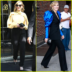 Cate Blanchett Promotes 'Where'd You Go, Bernadette' in NYC