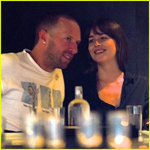 Chris Martin & Dakota Johnson Enjoy a Dinner Date in NYC