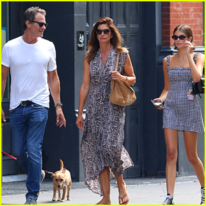 Cindy Crawford & Rande Gerber Spend the Day with Daughter Kaia in NYC