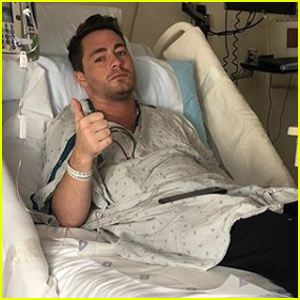 Colton Haynes Gets Candid About His Battle With Addiction in Hospital Photos