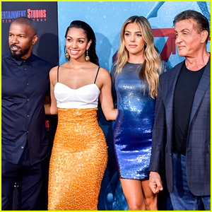 Sylvester Stallone & Jamie Foxx Support Their Daughters at '47 Meters Down: Uncaged' Premiere!
