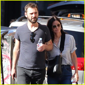 Courteney Cox & Johnny McDaid Step Out for Lunch Date in NYC