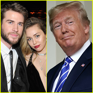 Donald Trump's 2013 Tweet About Miley Cyrus & Liam Hemsworth Has Resurfaced