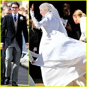 Ellie Goulding & Caspar Jopling Are Married - See Wedding Pics!
