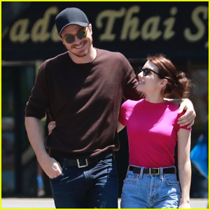 Emma Roberts & Garrett Hedlund Wrap Their Arms Around Each Other in Los Feliz!