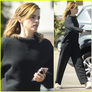 Emma Watson Kicks Off Her Day with Doctor's Appointment