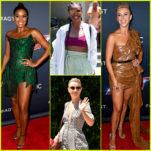 Gabrielle Union & Julianne Hough Enjoy an Amazing Day of Indulgence Ahead of 'AGT' Live Show