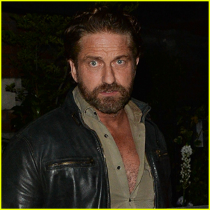 Gerard Butler Steps Out for Dinner with Friends in London