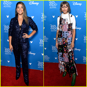 Gina Rodriguez & Grace VanderWaal Unveil Their Disney+ Projects at D23!