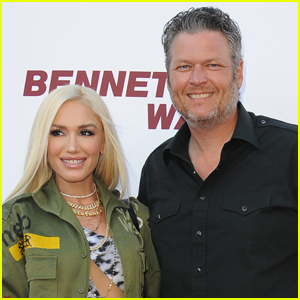 Gwen Stefani & Blake Shelton Couple Up for 'Bennett's War' Premiere!
