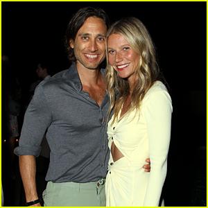 Gwyneth Paltrow & Husband Brad Falchuk Couple Up at 'The Politician