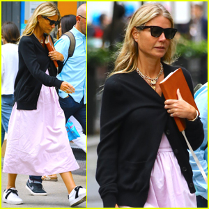 Gwyneth Paltrow Plays Tourist With Brad Falchuk in NYC