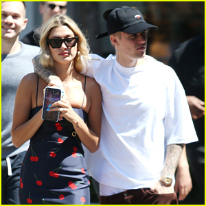 Hailey & Justin Bieber Spend The Afternoon at The Grove